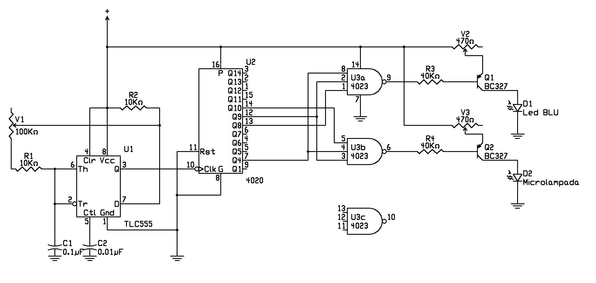 Schemi Elettrici Per Led : Come collegare un led ad una breadboard di arduino grectech