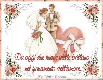 augurio felice matrimonio