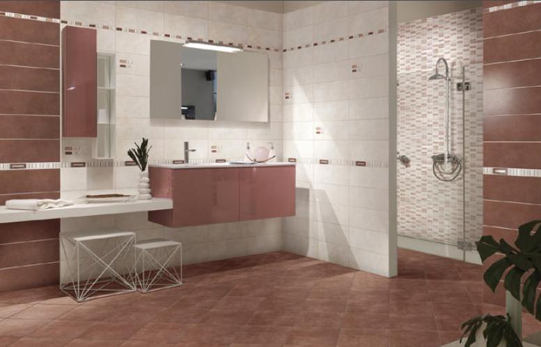 Piastrelle ceramica pavimento rivestimento bagno moderno regina beige avorio ebay - Piastrelle bagno beige ...