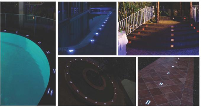 luci da esterno : Luci led da esterno giardino incasso pavimento segnapassi faretto ...
