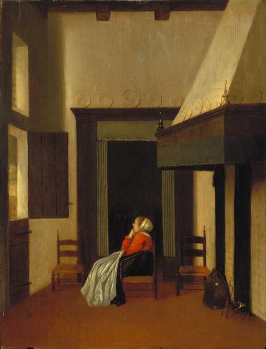 Vrel jacobus dutch active 1654 1662 for Scene d interieur blois