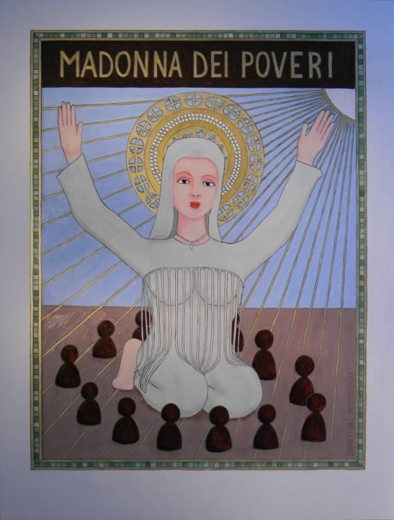 Madonna dei poveri ERICCO galleria d'arte di Enrico Del Rosso