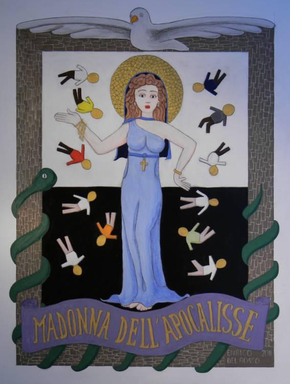 Madonna dell'apocalisse ERICCO galleria d'arte di Enrico Del Rosso
