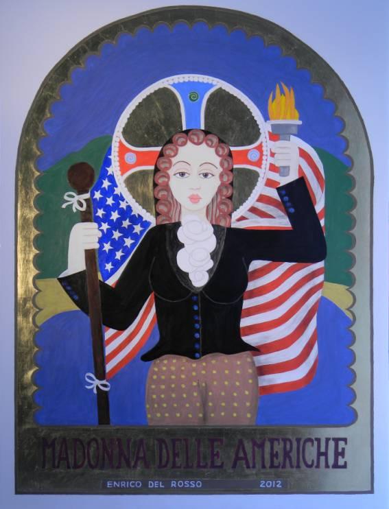 Madonna delle americhe ERICCO galleria d'arte di Enrico Del Rosso