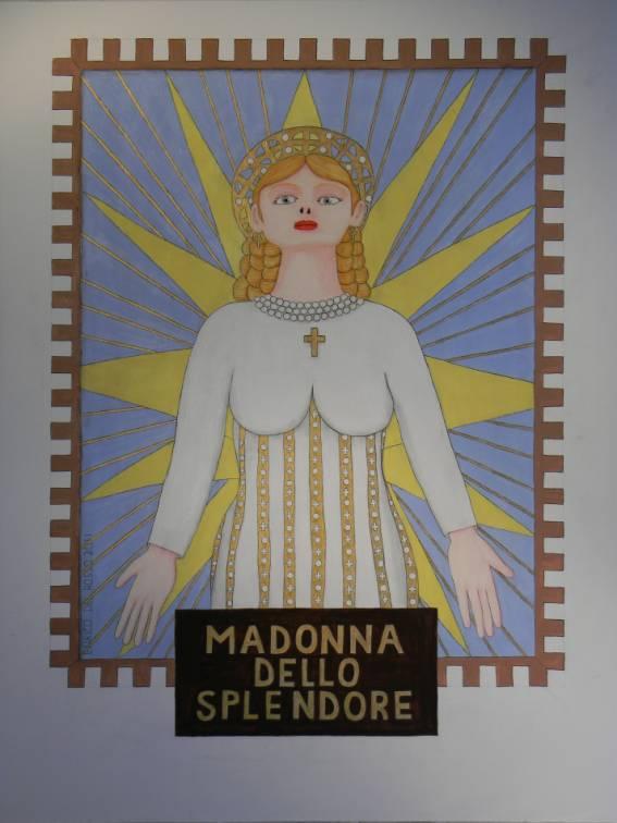 Madonna dello splendore ERICCO galleria d'arte di Enrico Del Rosso