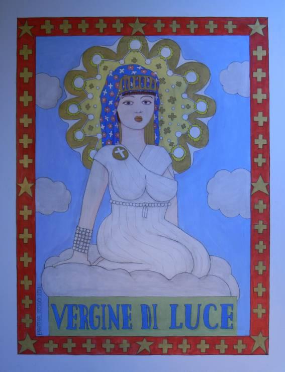 Vergine di luce ERICCO galleria d'arte di Enrico Del Rosso