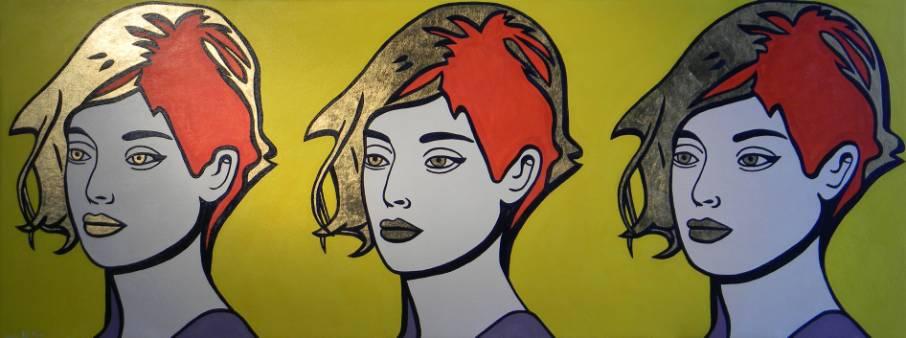 Triplex ERICCO COMUNICAZIONISMO galleria d'arte di Enrico Del Rosso