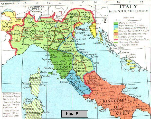 Cartina Italia Nel 400.Astronomia Del Medioevo Europeo