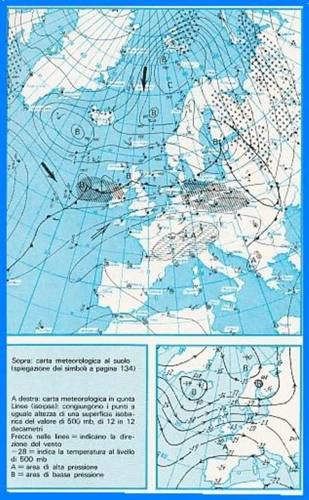 Cartina Meteorologica Dell Italia.Meteorologia Elementare Parte Seconda
