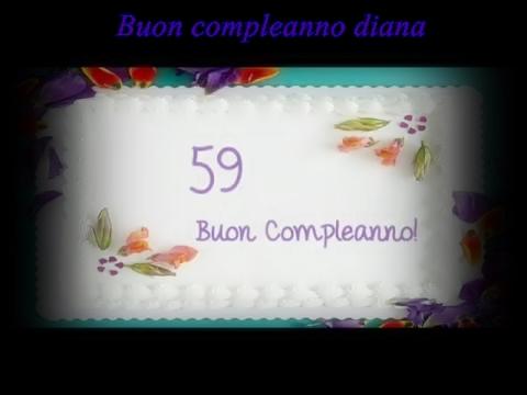 Buon Compleanno Diana Su Divina