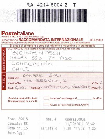 Proviamo a sessare in cile for Poste italiane permesso di soggiorno