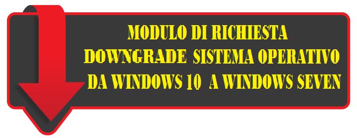 Downgrade da Win 10 a Win 7