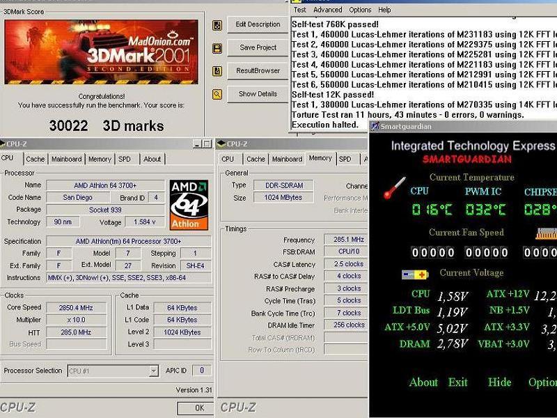 Prime95_3DMark01_CPUZ_SmartG.jpg