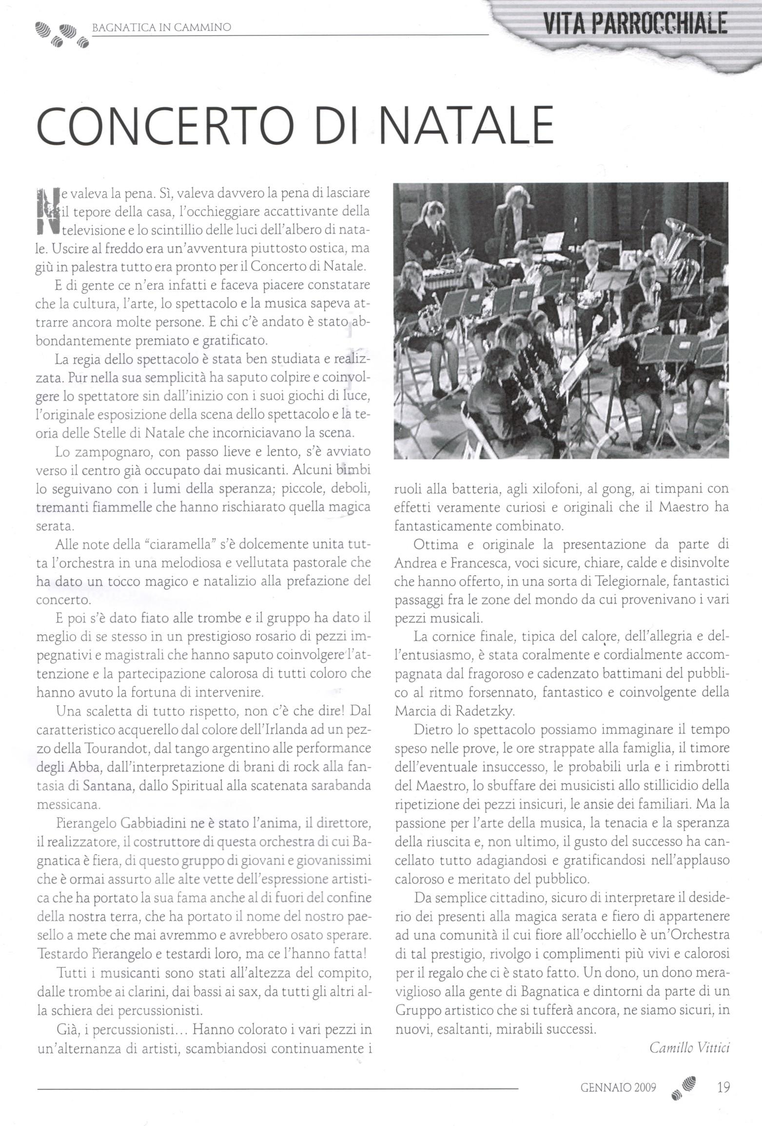 Corpo musicale G. Donizetti - un successo