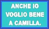 ANCHE IO VOGLIO BENE A CAMILLA.
