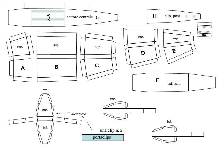 Schema costruzione scatola fare di una mosca for Come costruire i passaggi della scatola