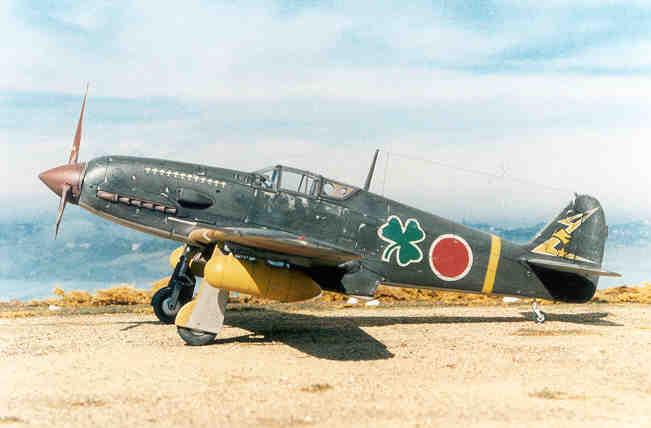 Aereo Da Caccia Giapponese : Aereo da caccia kawasaki ki cap chuichi ichikawa