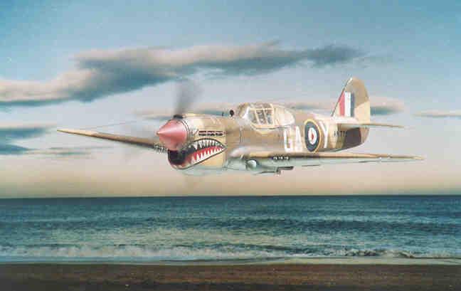 Aerei Da Caccia Inglesi Seconda Guerra Mondiale : Caccia inglese seconda guerra mondiale curtiss p e