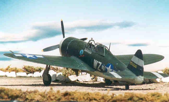 Aerei Da Caccia Americani Seconda Guerra Mondiale : Republic p d caccia seconda guerra mondiale