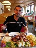 Il piatto della casa del Pitztaler Hof di Wenns... tranquilli, è per tutti e due ;)