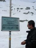 Gletscher Strasse: il piazzale a 2800 metri sul ghiacciaio