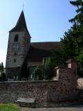 La chiesa fortificata di Hunawihr