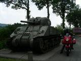 Verso le Ardenne: lungo la Mosa poco dopo il confine belga