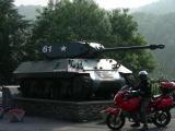 La Roche en Ardenne, tank inglese 'Achilles'