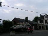 La Gleize Tank Tigre in Rue de l'Eglise accanto al Museo del 44