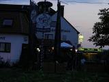 Troviamo una buona sistemazione a Nonnweiler, vicino all'autostrada...