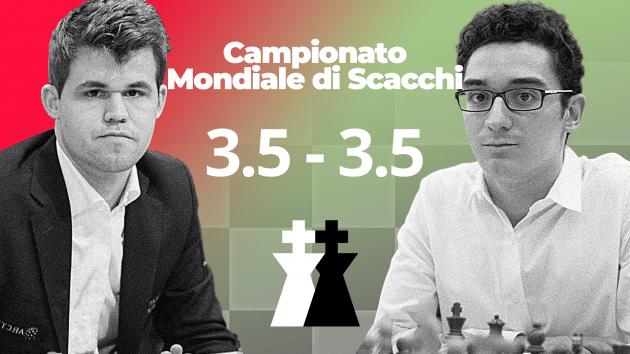 World Chess Championship 2018 - GAME 7