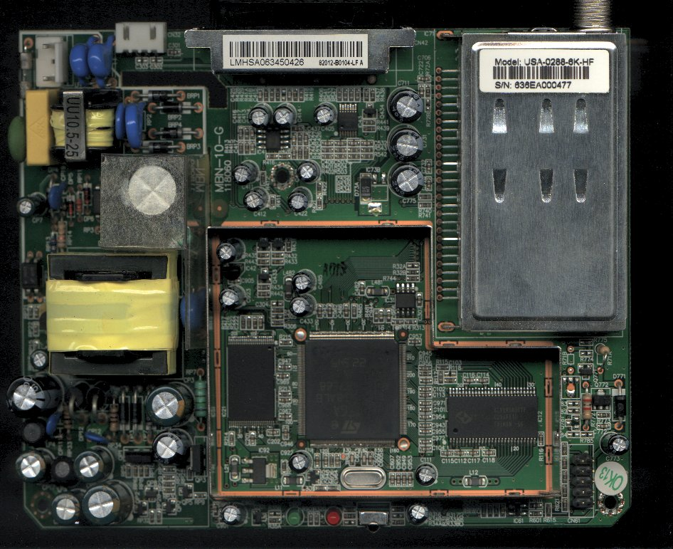 DCU3 Jtagging of an ST5105 device based STB [Archive]
