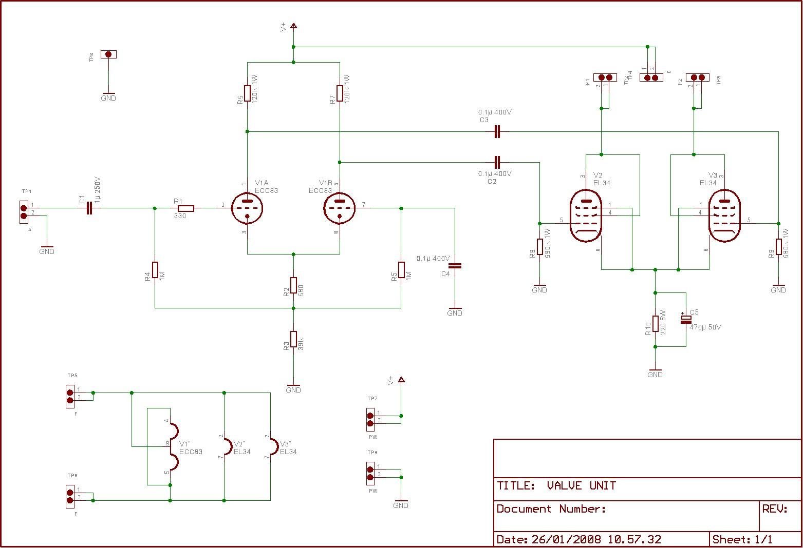 Amplificatore Con El34 The Fu29 Pushpull Circuit Amplifiercircuit Diagram Un Configurazione A Push Pull Le Connesse Triodo Il Loro Punto Di Riposo Stato Scelto Affinch Anche Livelli Alti Potenza