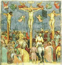 >>La crocifissione di Altichiero da Verona nell'oratorio san Giorgio
