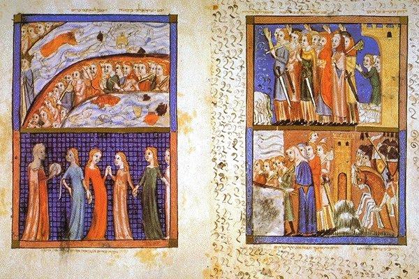 Il passaggio del Mar Rosso dans immagini sacre haggadah0028