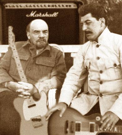 Místo Stalina žraloci?