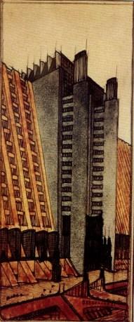 L 39 architettura futurista for Architetto sant elia