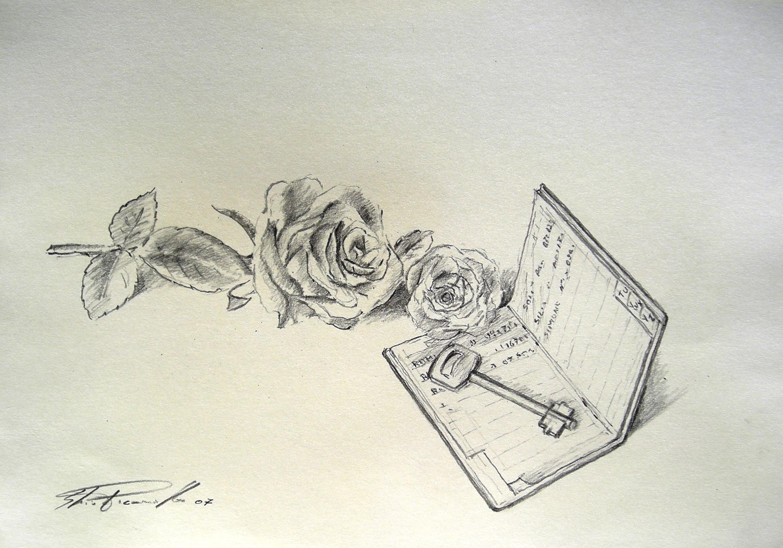 disegni a matita facili