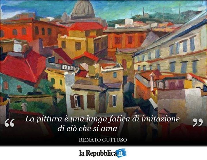18 gennaio 1987: muore il pittore Renato Guttuso