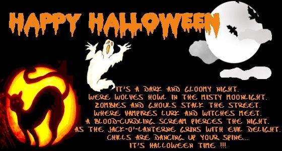 E  la notte di Halloween !!! ...una notte di Fantasmi 8395f2ef6264