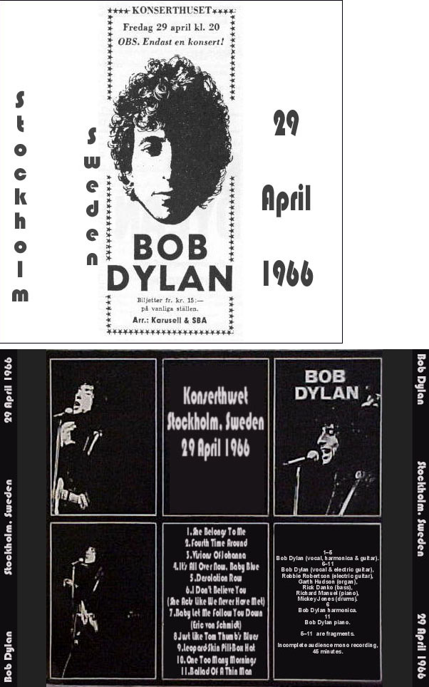 Bob Dylan List of CDs & CDRs
