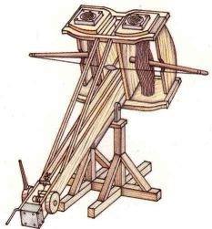 Armi da assedio nel medioevo for Altalena legno usata