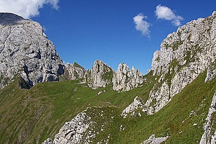 Descrizioni e immagini di escursioni nelle montagne del Friuli Venezia Giulia.