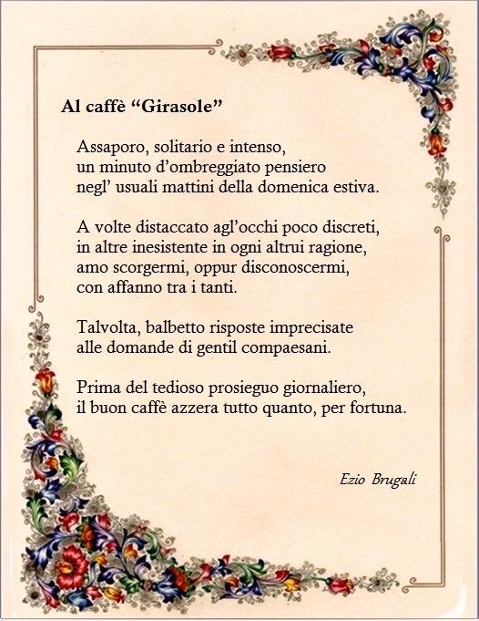 al caffè Girasole