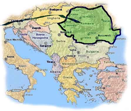 Cartina Romania Transilvania.Nuova Pagina 1