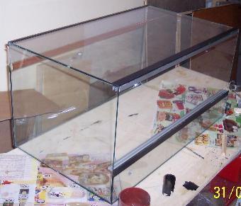 I terrari in legno for Tartarughiera grande vetro