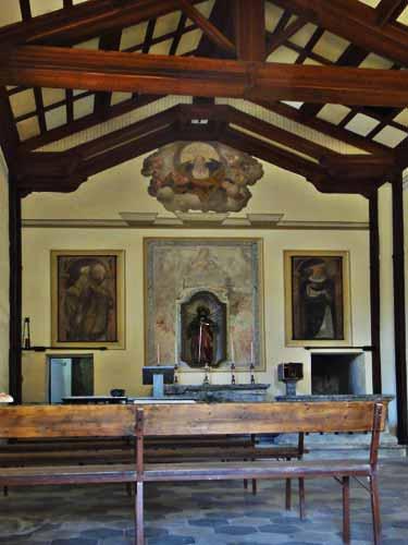 Tavernerio - l'oratorio di San. Fereolo e la localit Casina