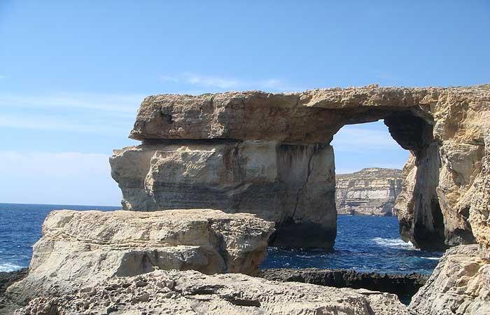 Malta gozo e comino - La finestra azzurra gozo ...