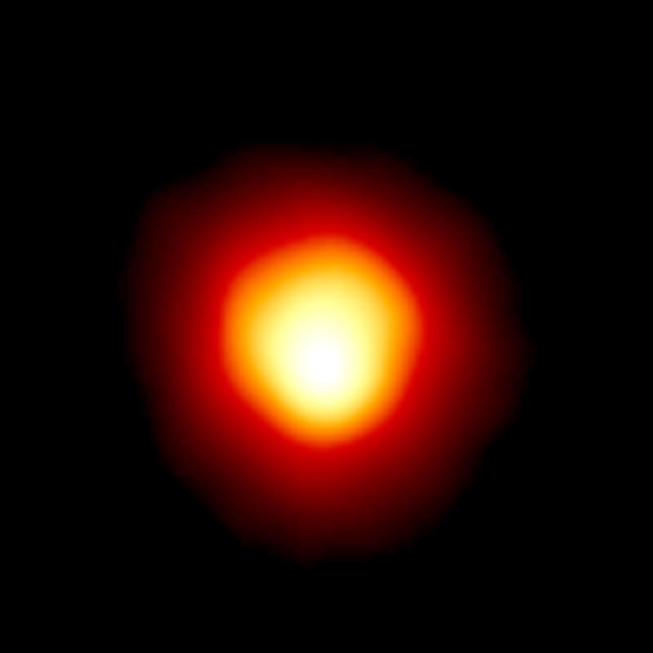 Betelgeuse fotografata da Hubble