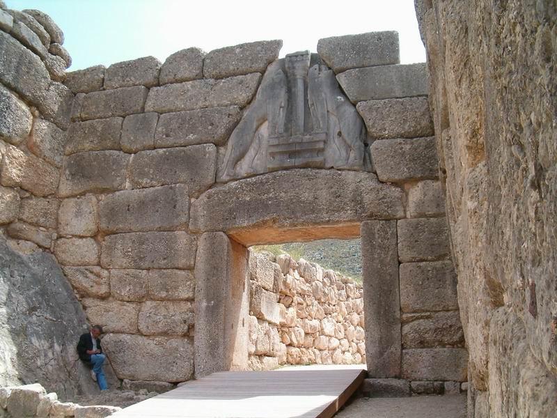 Micene - La porta dei leoni